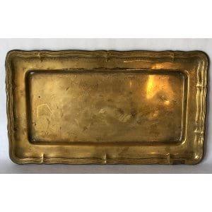 Small brass tray