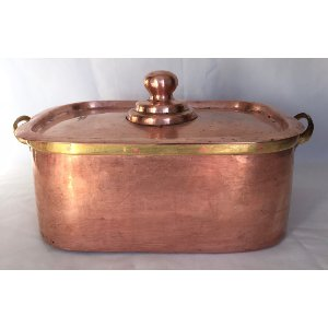 rectangular Copper Vessel