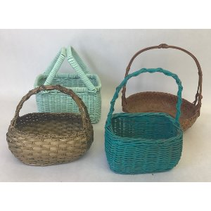small flower girl baskets