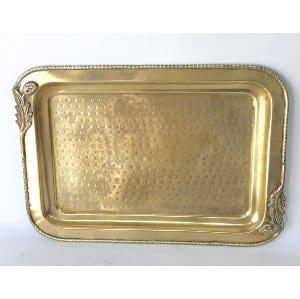 Brass tray   15.25