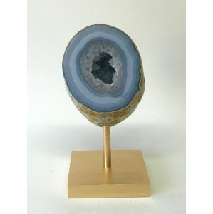 GIANA BLUE AND GOLD GEODE