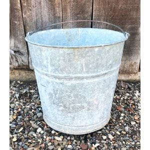 BANCROFT GALVANIZED BUCKET