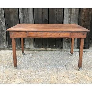 WOOD SWEETHEART TABLE FOR SETTEE