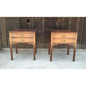 Carlton Matching Wood Side Tables