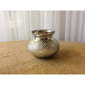 Textured Mercury Glass VASE