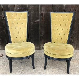 CHASITY CHARTREUSE CHAIR