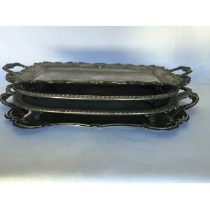 Silver Rectangular Tray