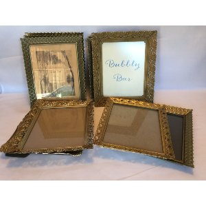 8x10 Gold Filagree Frames
