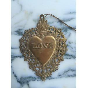 HAYDEN Brass Heart