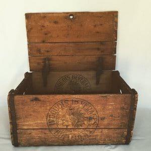 INDIAN WOOD BOX