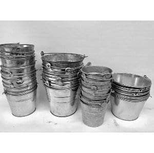 GARY GALVANIZED BUCKETS SMALL