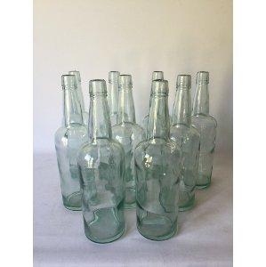 blue/green bottle 11 in