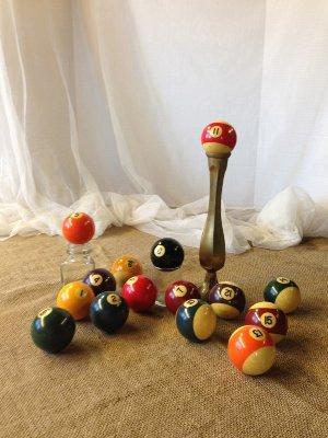 Vintage Billard Balls