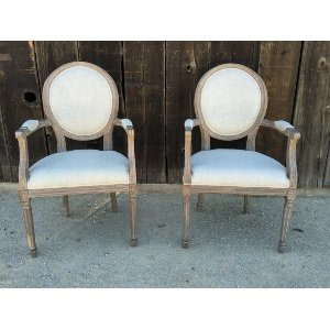 VIOLA LINEN SIDE CHAIR