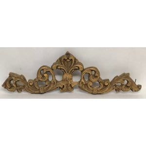 PAGET GOLD WOOD PIECE