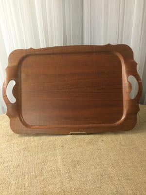 Mid century Wood Tray