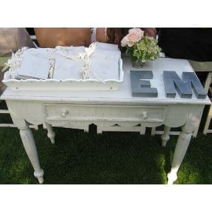 WALLACE WHITE TABLE