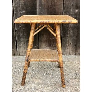 THORNE VINTAGE BAMBOO SIDE TABLE