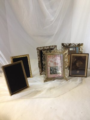 5 x 7 Gold and Filigreed Frames