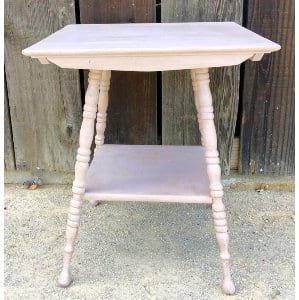 Blush Pink square table