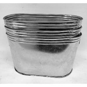 BERK OVAL GALVANIZED TUB
