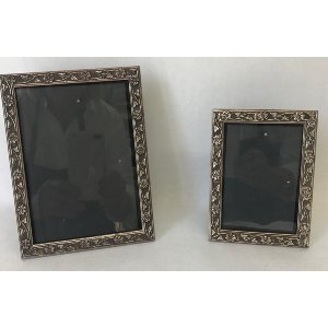 SILVER FRAME 3X5 AND 5 X 7