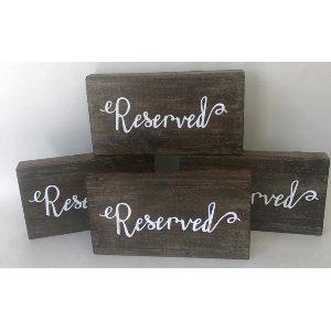 Reserved blocks