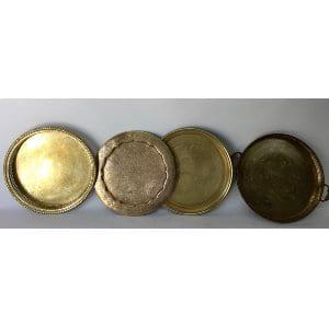 Brass tray  12