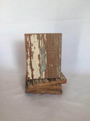 Rustic Wood Table Numbers 1-20