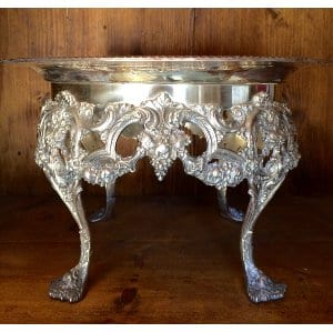 Vintage Silver cake stand