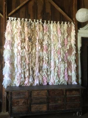 Vertical Hanging Fabric