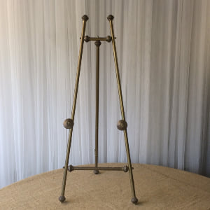 Brass Tabletop Easel