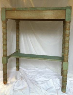 SPENCER SMALL GREEN TABLE