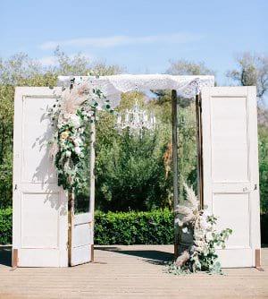 Vincent Vintage Door Set Ceremony Structure