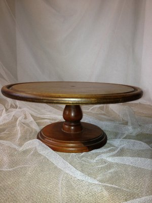 SHAWN WOOD CAKE STAND