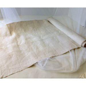 Linen fabric runner