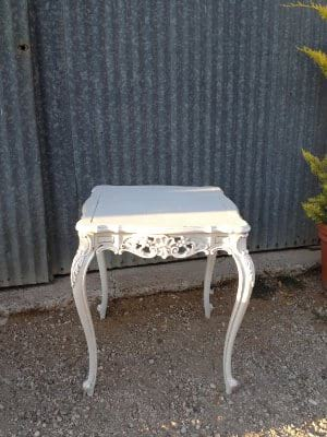 GRANT GRAY SIDE TABLE