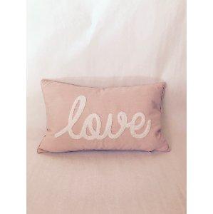 Pink Love Pillow