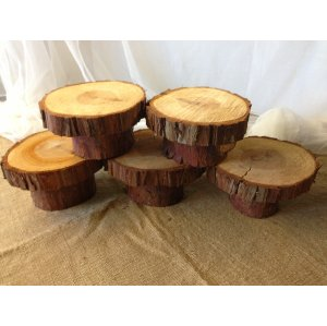 Small Wood Pedestal Risers