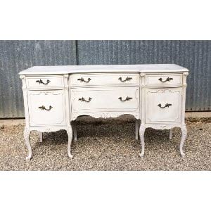 FRANCINE FRENCH SIDEBOARD GRAY BUFFET