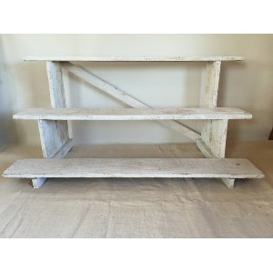 WADESWORTH WHITE WOOD SHELF
