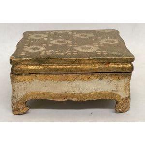 BIJOUX GOLD FLORENTINE RING BOX