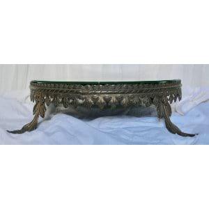 Large Brass Cake plateau 20
