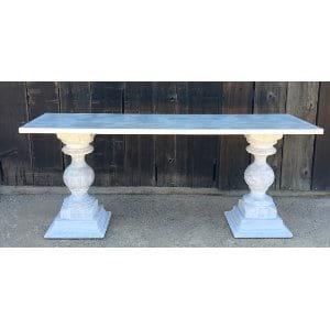 THEODORE WHITE TABLE