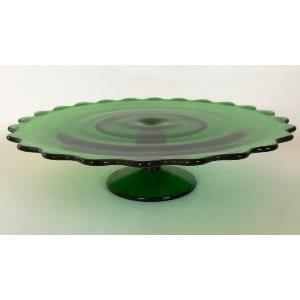 Evergreen Cake Plate