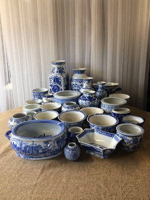 Blue and White Porcelain CONTAINERS