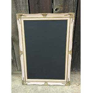 RILEY PINK AND GOLD 24 X 36 FRAME
