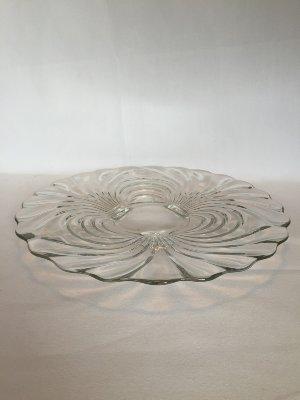 Glass Platter swirl