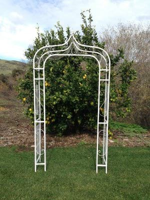 SELAH Pointed White ceremony structure