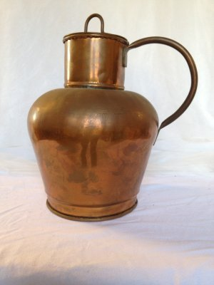 Large Copper Vessel